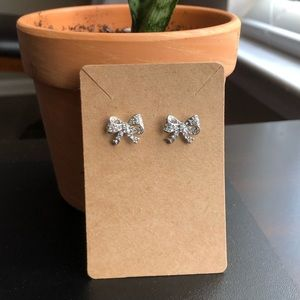 3/$14 - Diamond Bow-Shaped Studs/Earrings